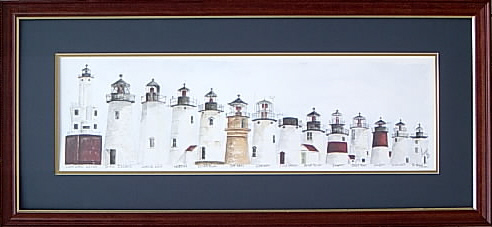 '97 Lighthouse Series/mahag frame